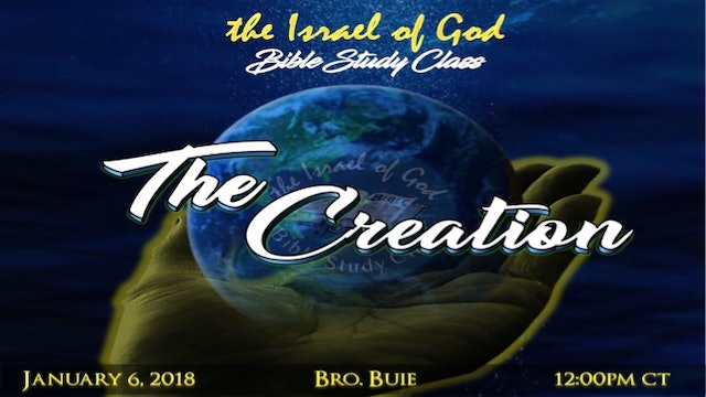 01062018 - The Creation