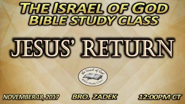 111817 - Jesus' Return