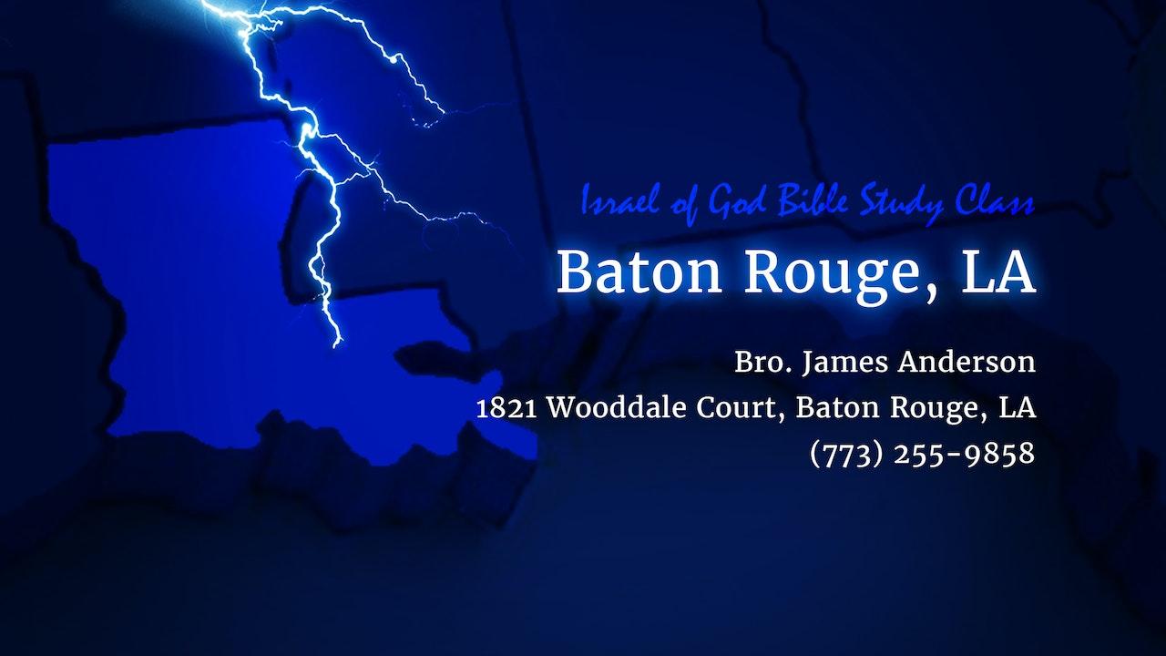 Baton Rouge Lessons
