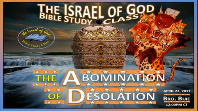 42217 - The Abomination of Desolation
