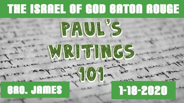01182020 - IOG Baton Rouge - Paul's W...
