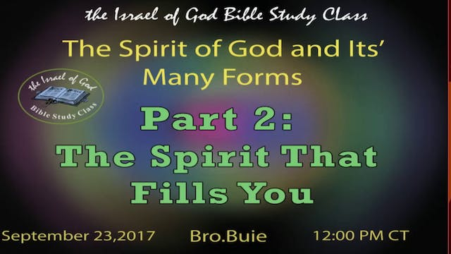 92317 - The Spirit of God In Its Many...