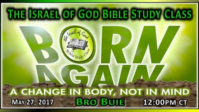 52717 - Born Again: A Change In The B...