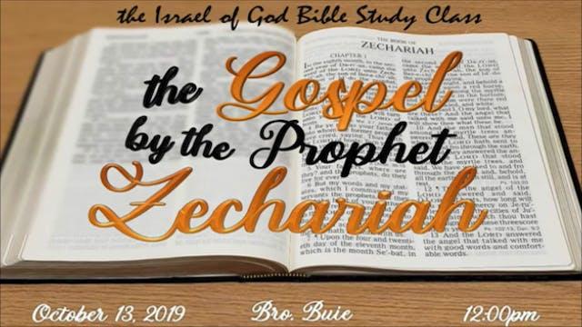 10122019 - The Gospel By The Prophet ...