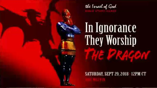 09292018 - In Ignorance They Worship ...