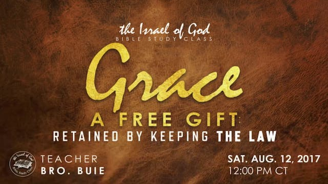 81217 - Grace, A Free Gift, Retained ...