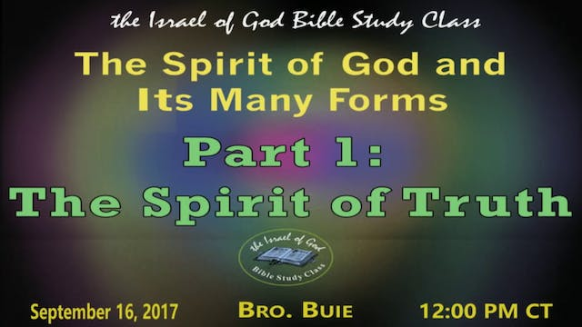 91617 - The Spirit of God In Its Many...