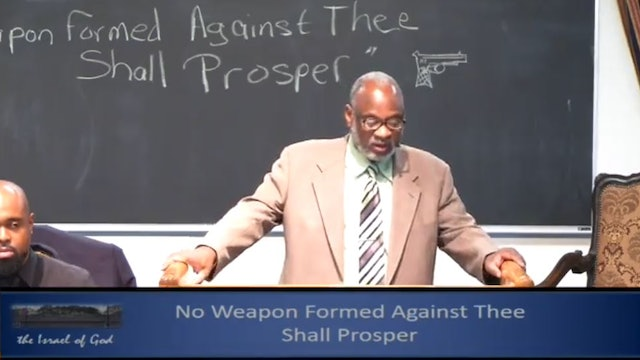 8102019 - IOG Memphis - No Weapon Formed Against Thee Shall Prosper