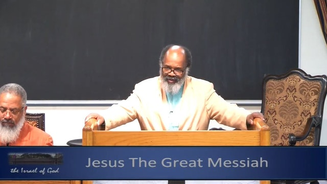 3232019 - IOG Memphis - Jesus The Great Messiah