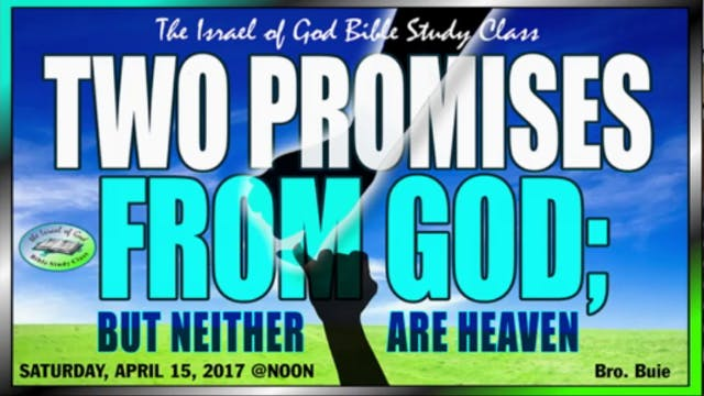 41517 - The Two Promises From God, Bu...