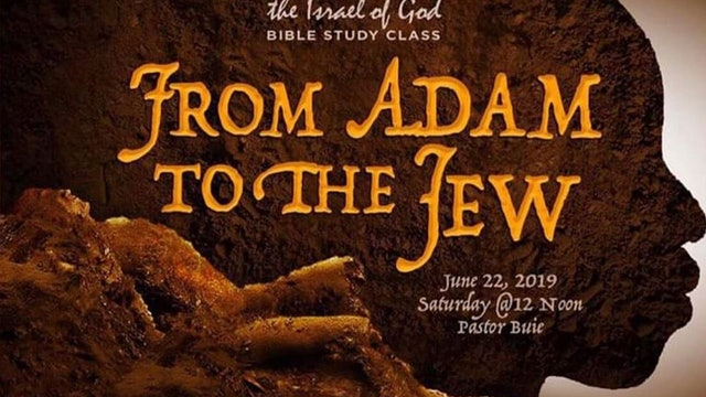 6222019 - From Adam To The Jew