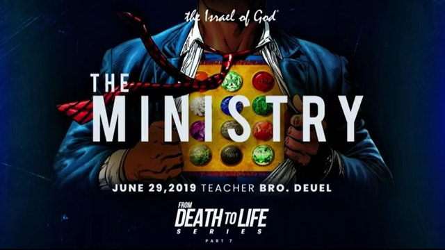 6292019 - IOG Atlanta - From Death To Life Series - Part VII - The Ministry