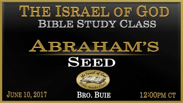 61017 - Abraham's Seed