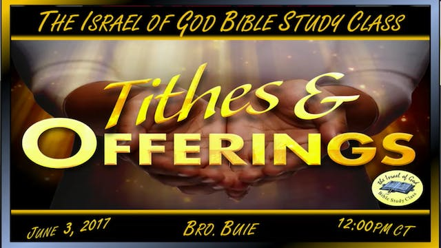 60317 - Tithes & Offerings