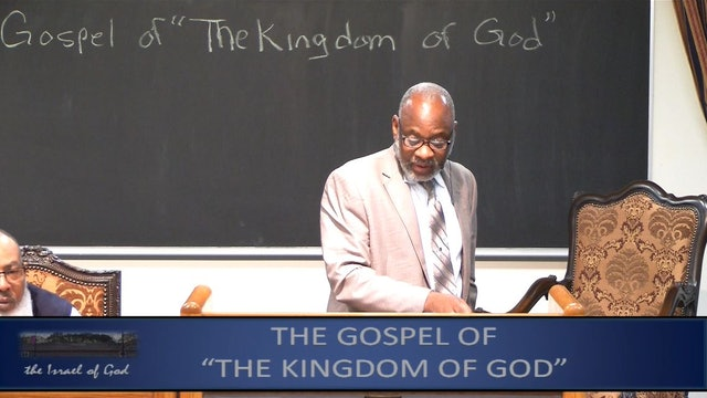 4132019 - IOG Memphis - The Gospel of the Kingdom of God