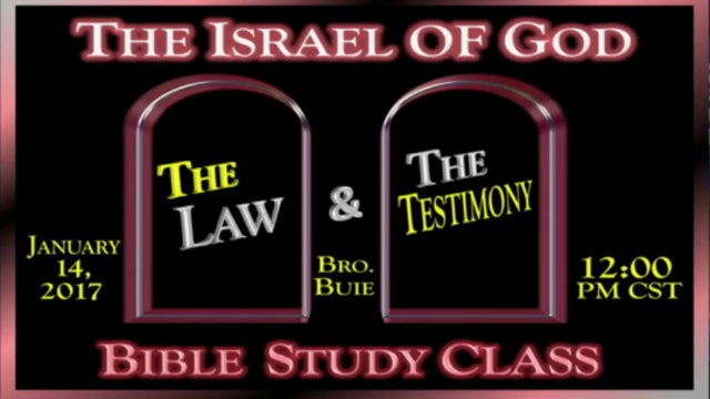 11417 - The Law & The Testimony