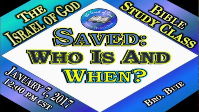 10717 - Saved: Who Is & When?