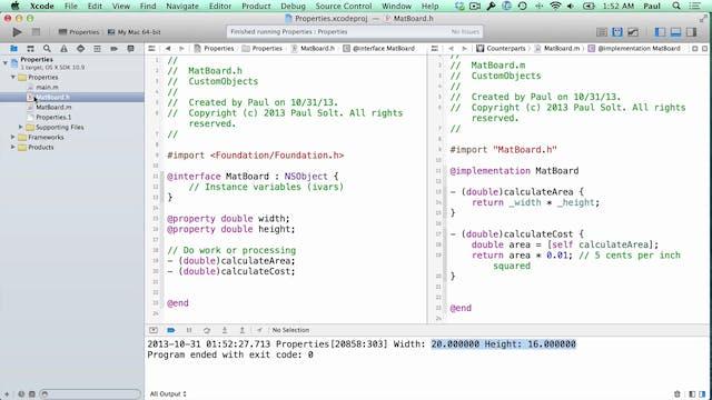 17 Xcode - Properties