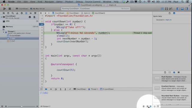5 Xcode - Advanced Functions