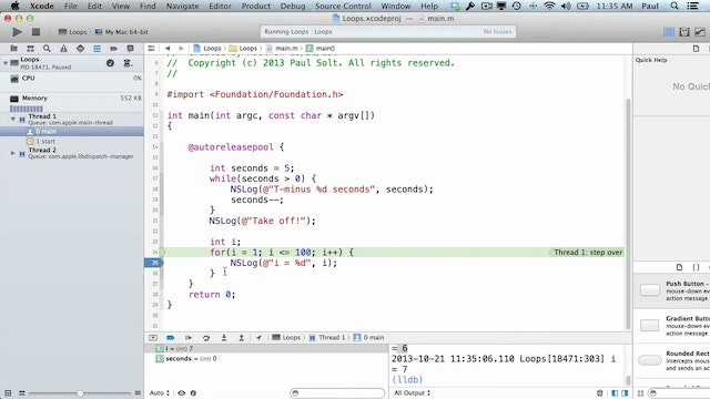 8 Xcode - Pointers