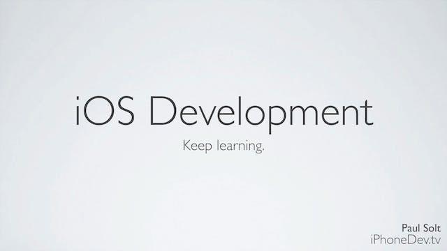 32 - iOS Development Closing