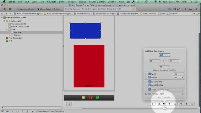 28b Xcode - Auto Layout Primer Debugging