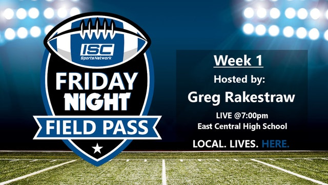 2018 FB Week 1 Friday Night Field Pass Pregame Show
