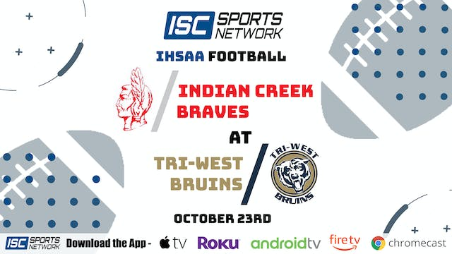 2020 IHSAA FB Indian Creek at Tri West