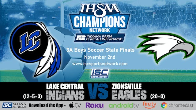 2019 IHSAA 3A BS Lake Central vs Zion...