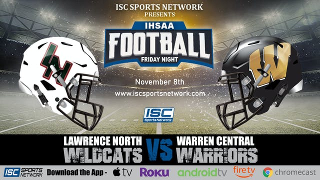 2019 IHSAA FB Lawrence North at Warre...