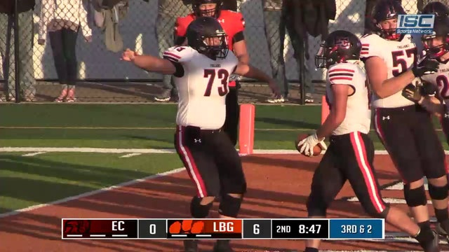 53yd Rushing TD by East Central's #13 Jake Fike