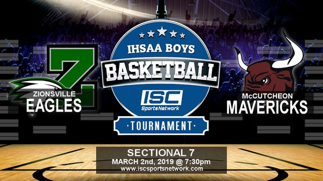 2019 IHSAA BBB Zionsville vs McCutcheon