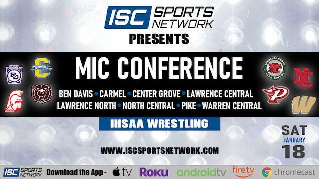 2020 MIC Wrestling Conference Finals