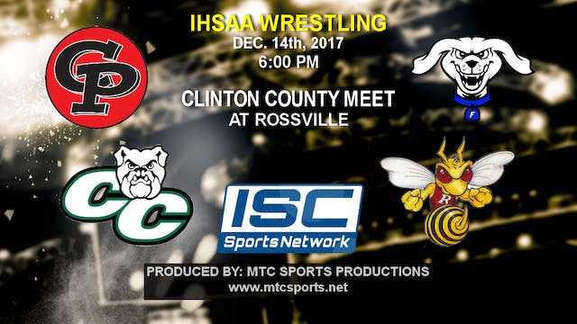 2017 Clinton County Wrestling Meet