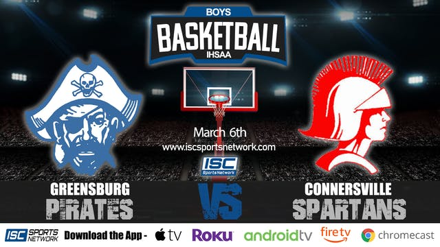 2020 IHSAA BBB Greensburg vs Connersv...