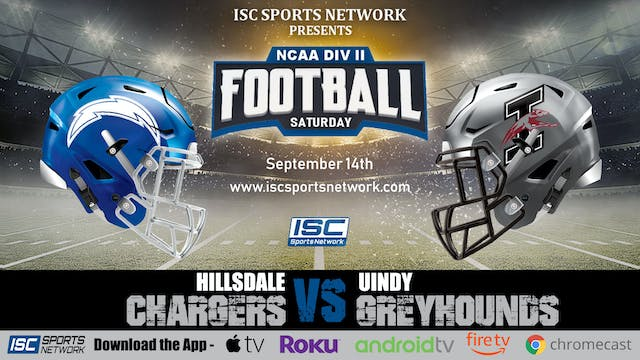 2019 CFB Hillsdale at UIndy 9-14
