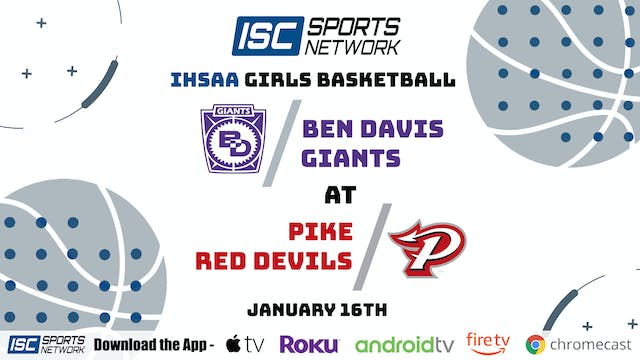 2021 GBB Ben Davis at Pike 1/16