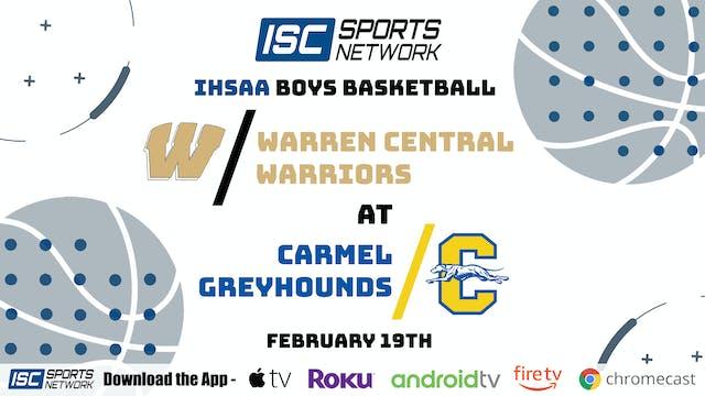 2021 BBB Warren Central at Carmel 2/19/21