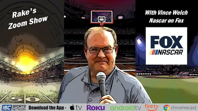Rake's Zoom Show: Vince Welch