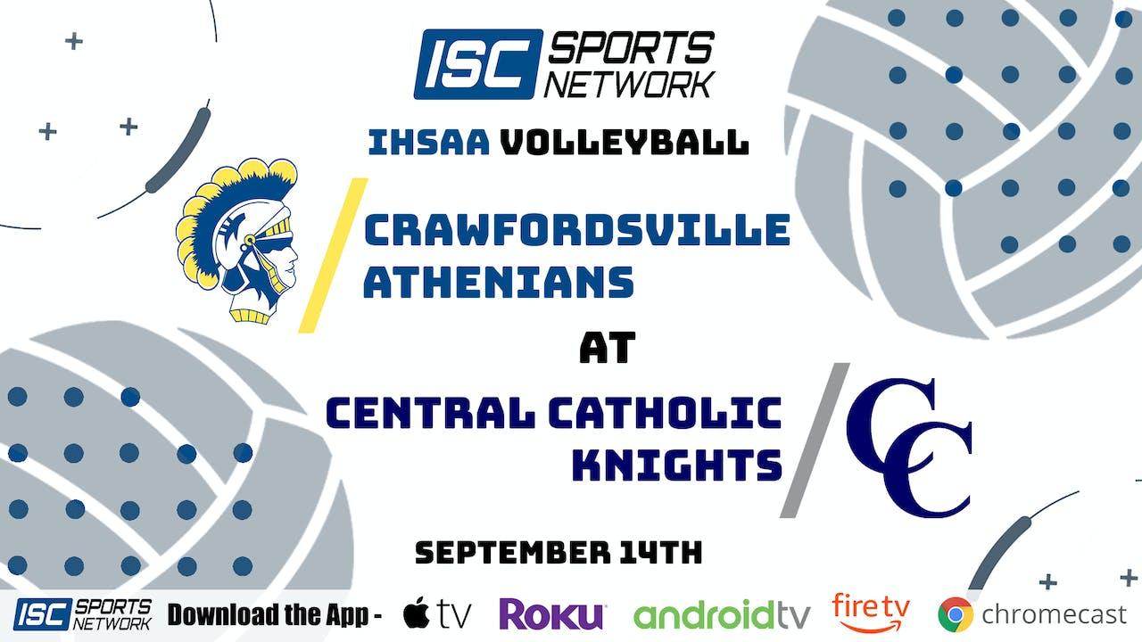 2020 VB Crawfordsville at Central Catholic 9/14/20