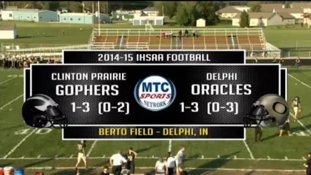 2014 FB Clinton Prairie at Delphi