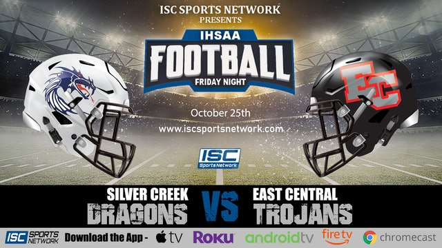 2019 IHSAA FB Silver Creek at East Central