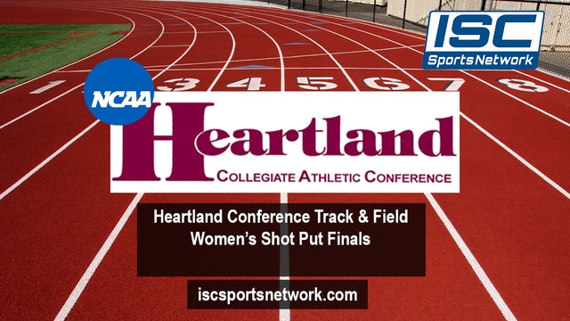 2019 HCAC Womens Shot Put