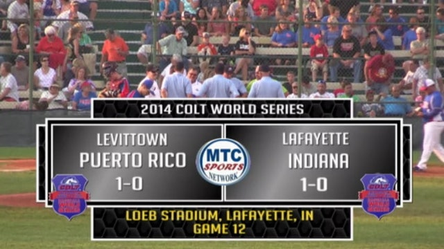 2014 Game 12 Puerto Rico vs. Lafayette, IN