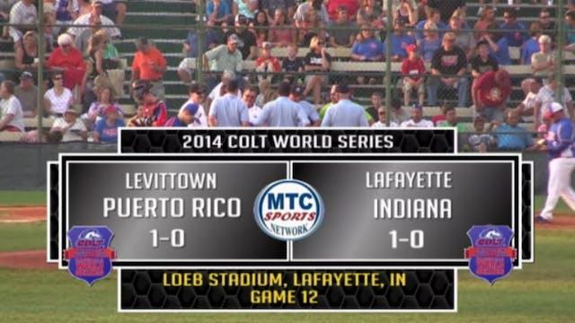 2014 Game 12 Puerto Rico vs. Lafayett...