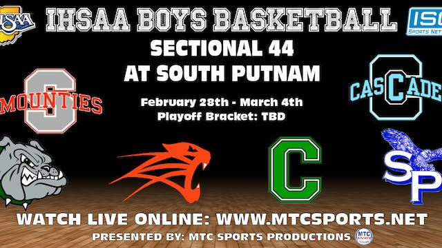 2017 IHSAA Monrovia vs South Putnam
