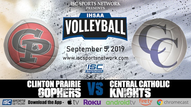 2019 VB Clinton Prairie at Central Catholic