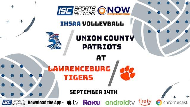 2020 VB Union County at Lawrenceburg 9/14/20