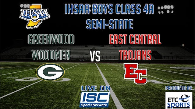 2017 IHSAA FB Greenwood at East Central