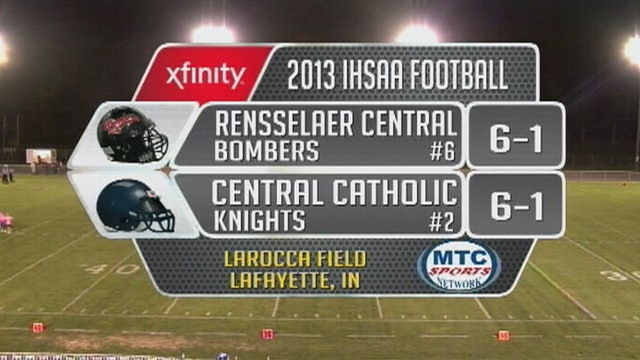 2013 FB Rennselaer Central at Central Catholic